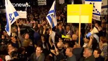 "Thousands join ""March of Shame"" against corrupt politicians in Tel Aviv"