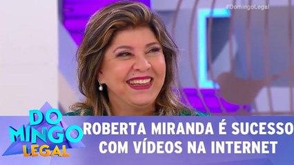 Roberta Miranda se torna sucesso nas redes sociais