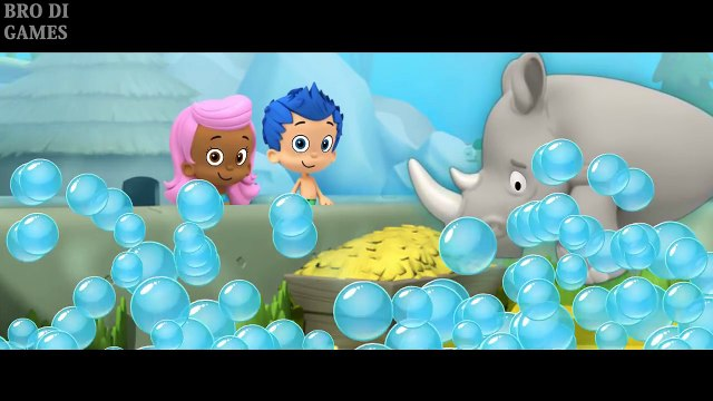 Bubble Guppies Full GAME bad monster Episodes Lonely Rhino Friend Nick Jr videos for kids BRODIGAME