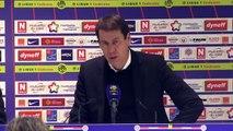 Montpellier 1-1 OM : la réaction de Garcia