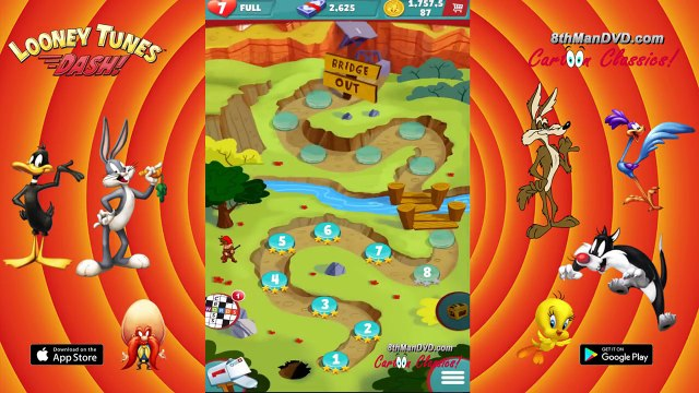 LOONEY TUNES DASH: Gameplay Cartoons - Episode 1: Wabbit Season Complete Levels 1-15 [HD 1