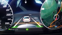 2017 Mercedes E Class Intelligent Drive Demonstration