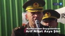 Komutandan Arif Nihat Asya şiiri