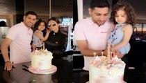 Amir Khan Celebrating his Daughter Lamaisa's 3rd Birthday