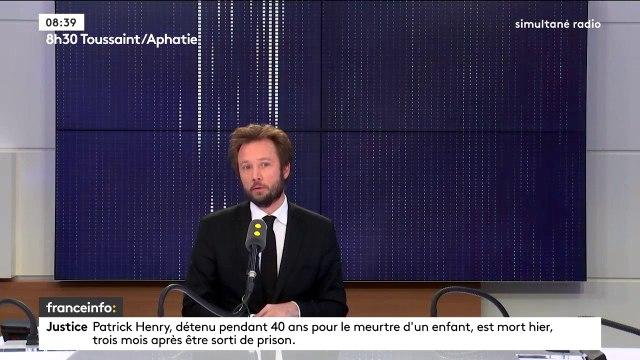 """Olivier Dussopt au gouvernement : """"Quand on est trente, on prend ça de façon personnelle, c'est comme s'il venait nous cracher individuellement au visage"""" réagit Boris Vallaud, député des Landes et porte-parole du groupe Nouvelle gauche"""