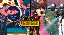 Salman Khan And Varun Dhawan Performance At Star Screen Awards 2018