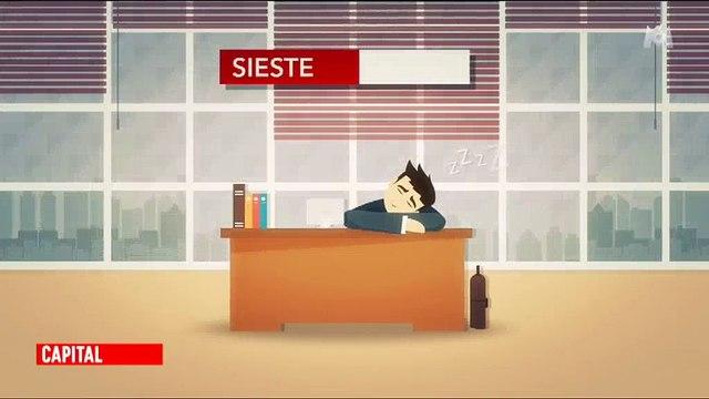 Faire une sieste au travail développerait les performances des salariés ! Regardez