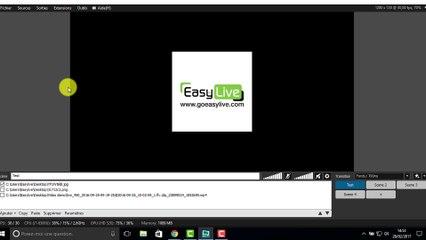 Réaliser un live Easy Live via Xsplit