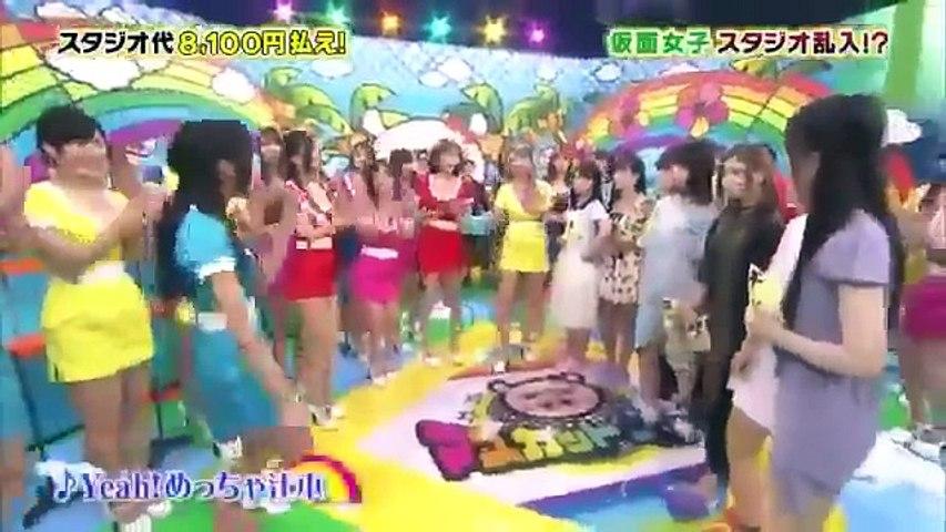 マスカットナイト 9月29日 仮面女子と熱湯イス取りゲーム