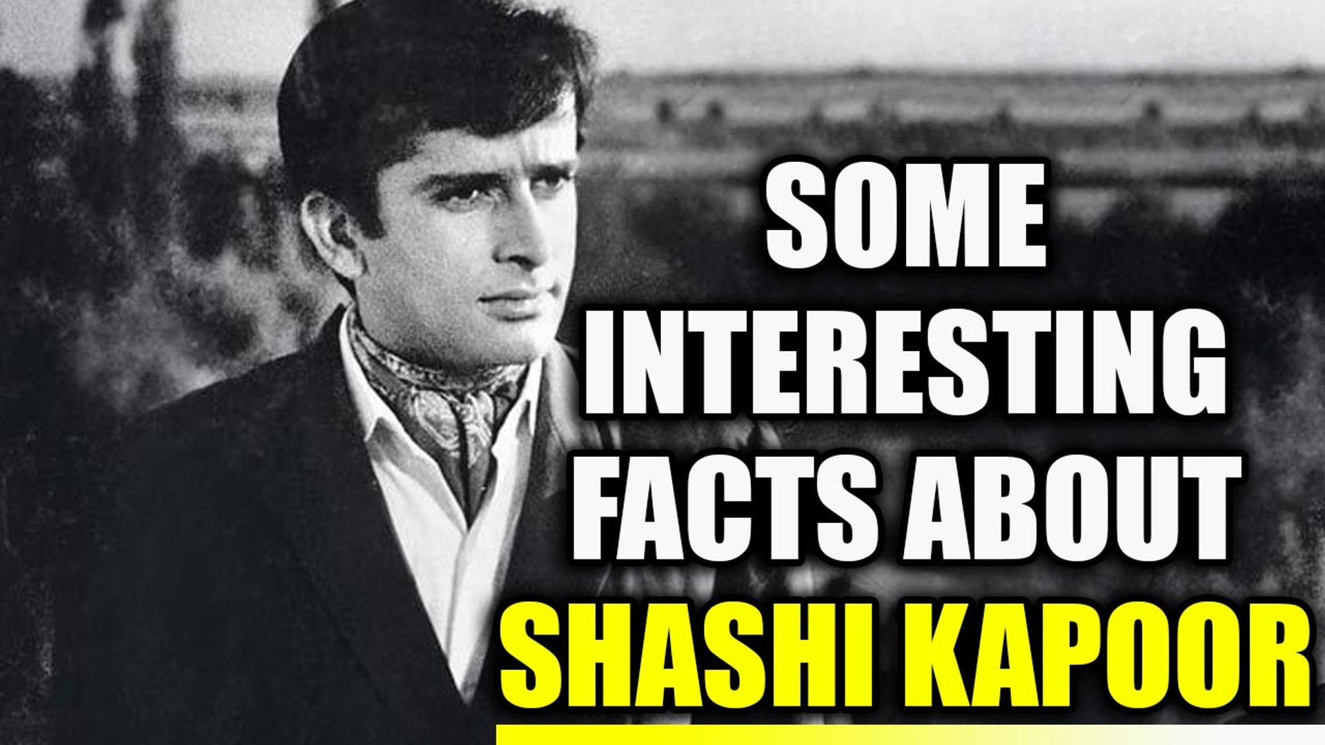 Shashi Kapoor : Unknown facts about veteran actor and his personal life | Oneindia News