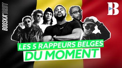 Les 5 rappeurs belges du moment !