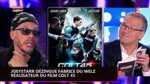 Insulté par JoeyStarr, Fabrice du Welz l'accuse d'avoir été ivre et drogué sur le tournage de Colt 45 (Vidéo)