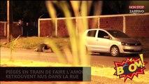 Brésil : Piégés en train de faire l'amour dans une voiture, ils se retrouvent nus dans la rue (Vidéo)