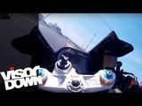 Aprilia RSV4 RF onboard lap | Visordown Onboard