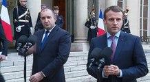 Déclaration conjointe du Président de la République, Emmanuel Macron, et de Roumen Radev, Président de la République de Bulgarie