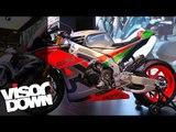 Aprilia RSV4 R-FW Misano walk-around at Eicma 2015   Visordown Exclusive