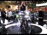 Kawasaki Ninja H2 up close   EICMA 2014   Visordown Exclusive