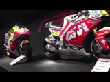 Honda RC213V-S with other MotoGP bikes at EICMA 2016