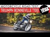 Triumph Bonneville T100 Review Motorcycle Road Test | Visordown Motorcycle Reviews