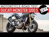 2017 Ducati Monster 1200 S Review Road Test | Visordown Motorcycle Reviews
