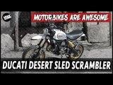 Ducati Desert Sled Scrambler | Motorbikes Are Awesome