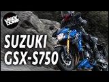 Suzuki GSX-S750 Bike Review First Ride   Suzuki naked bike review