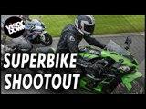 Superbike Review | 2017 in-line-four superbike shootout | Superbike comparison