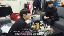 [ENG SUB] BTS JUNGKOOK & V Shake Off Their Nerves By Brushing Their Teeth Before Perform