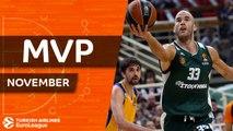 November MVP: Nick Calathes, Panathinaikos Superfoods Athens