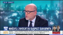 """Maëlys: """"Le procureur a énoncé des choses totalement contraires à la réalité du dossier"""", pour l'avocat du suspect"""