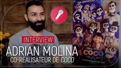 Adrian Molina : le co-réalisateur de Coco révèle les petits secrets du dernier Pixar
