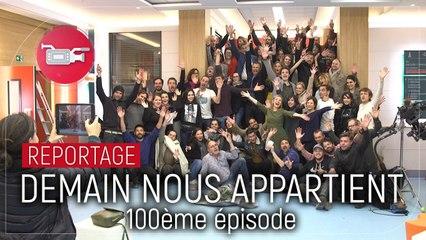 Demain nous appartient (TF1) : les comédiens célèbrent le 100e épisode