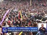 Desfiles de la confraternidad y conciertos fueron los principales atractivos en las fiestas de Quito