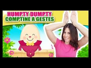 Humpty Dumpty - Comptines et Comptinettes à gestes pour bébé - Titounis