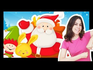Les Comptines à gestes et comptinettes de papa Noël - Titounis