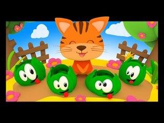 Savez-vous planter les choux - Comptines pour enfants - Titounis