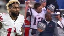 Odell Beckham Jr Calls Tom Brady's Blowup on Josh McDaniels a Double Standard
