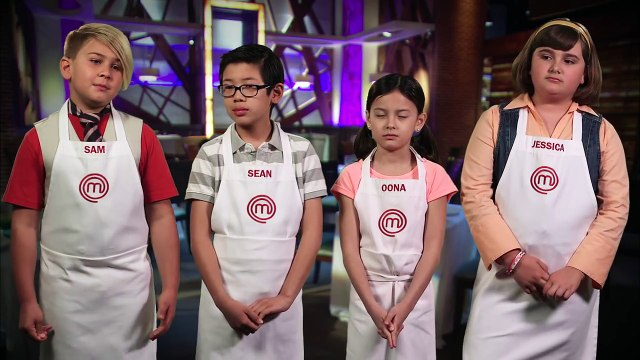 Meet The Junior Chefs - Sam, Sean, Oona And Jessica _ Season 2 _ MASTERCHEF JUNIOR-Glz4OQa_3o8