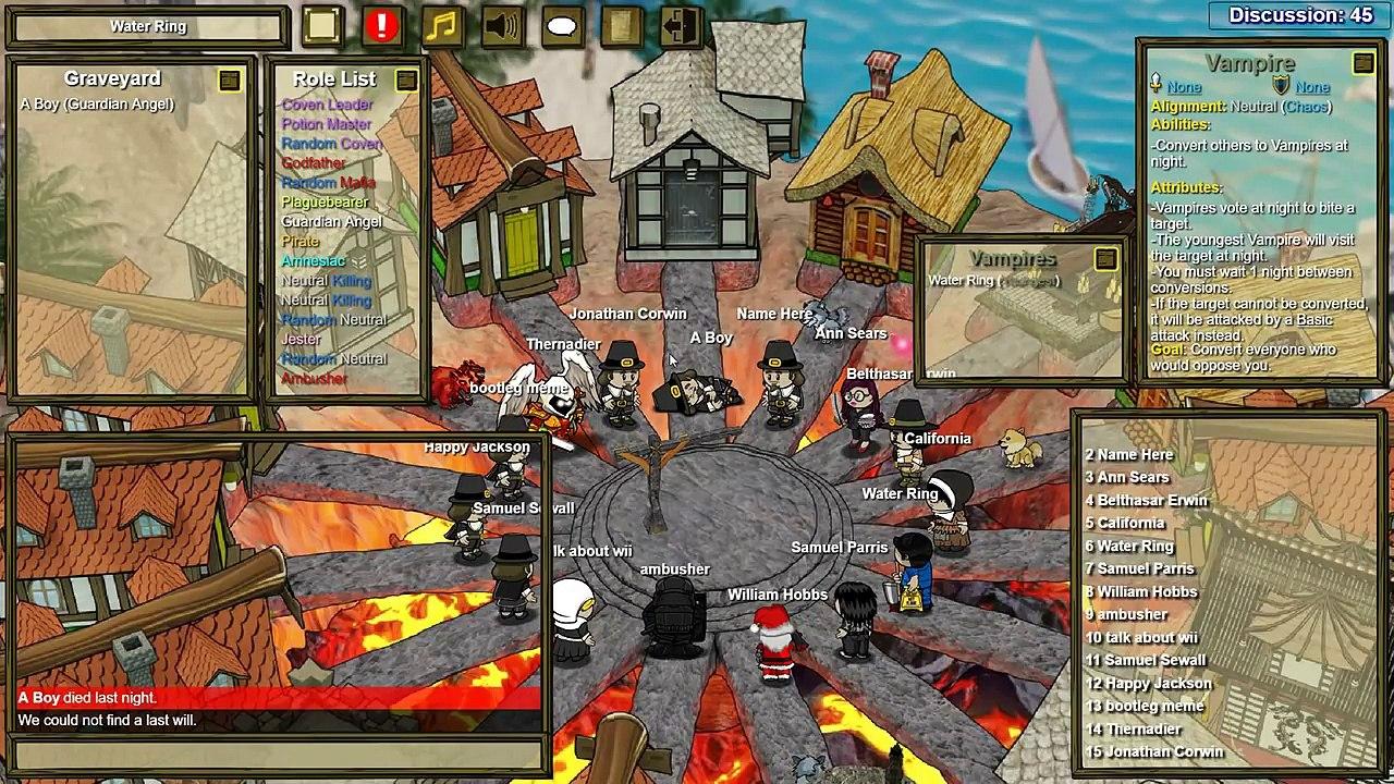 Town of Salem: The VamPlaguebearer | Vampires in Coven Game