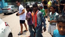 【筋トレ】インドの5つ星ホテルで背中/胸トレ!そしてスラム街へ出る.2#