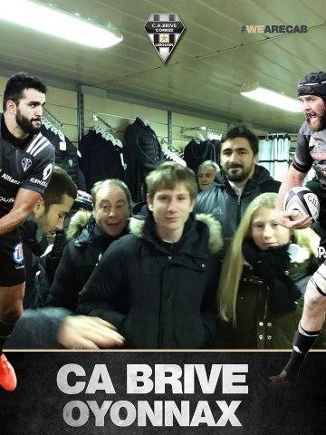 Les supporters de CA Brive / Oyonnax en images !