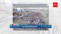 ANAMA: Xızıda 114 ədəd hərbi sursat aşkarlandı