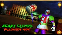 Scary Clown Halloween night Android games Android Gameplay