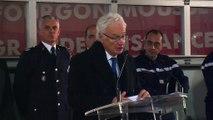 Le discours du maire de Martigues Gaby Charroux.