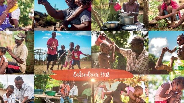 Calendrier 2018 Coeur et Conscience - Au nom du coeur