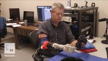 Experimental research is giving the sense of touch to  robotic prosthetics