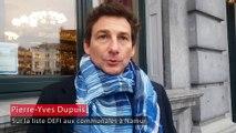 Pierre-Yves Dupuis rejoint Défi à Namur