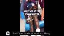 Alexis Sanchez en scène avec son chien, De Bruyne fait des chatouilles à Mendy