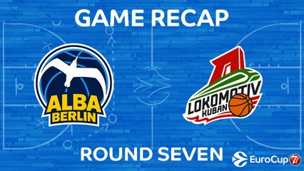 7DAYS EuroCup Highlights Regular Season, Round 7: ALBA 84-89 Lokomotiv