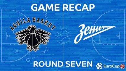 7DAYS EuroCup Highlights Regular Season, Round 7: Trento 103-81 Zenit